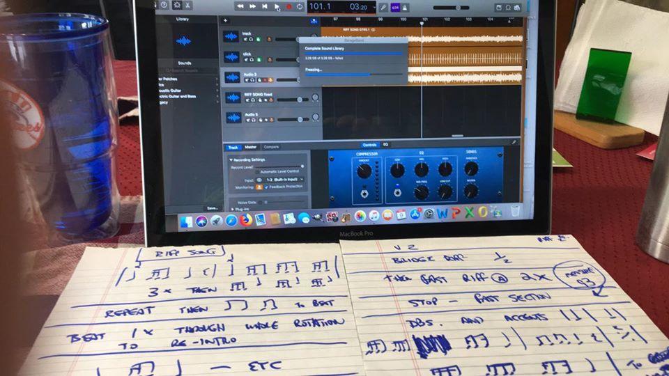 OVERKILL travaille sur le nouvel album ! Overki11