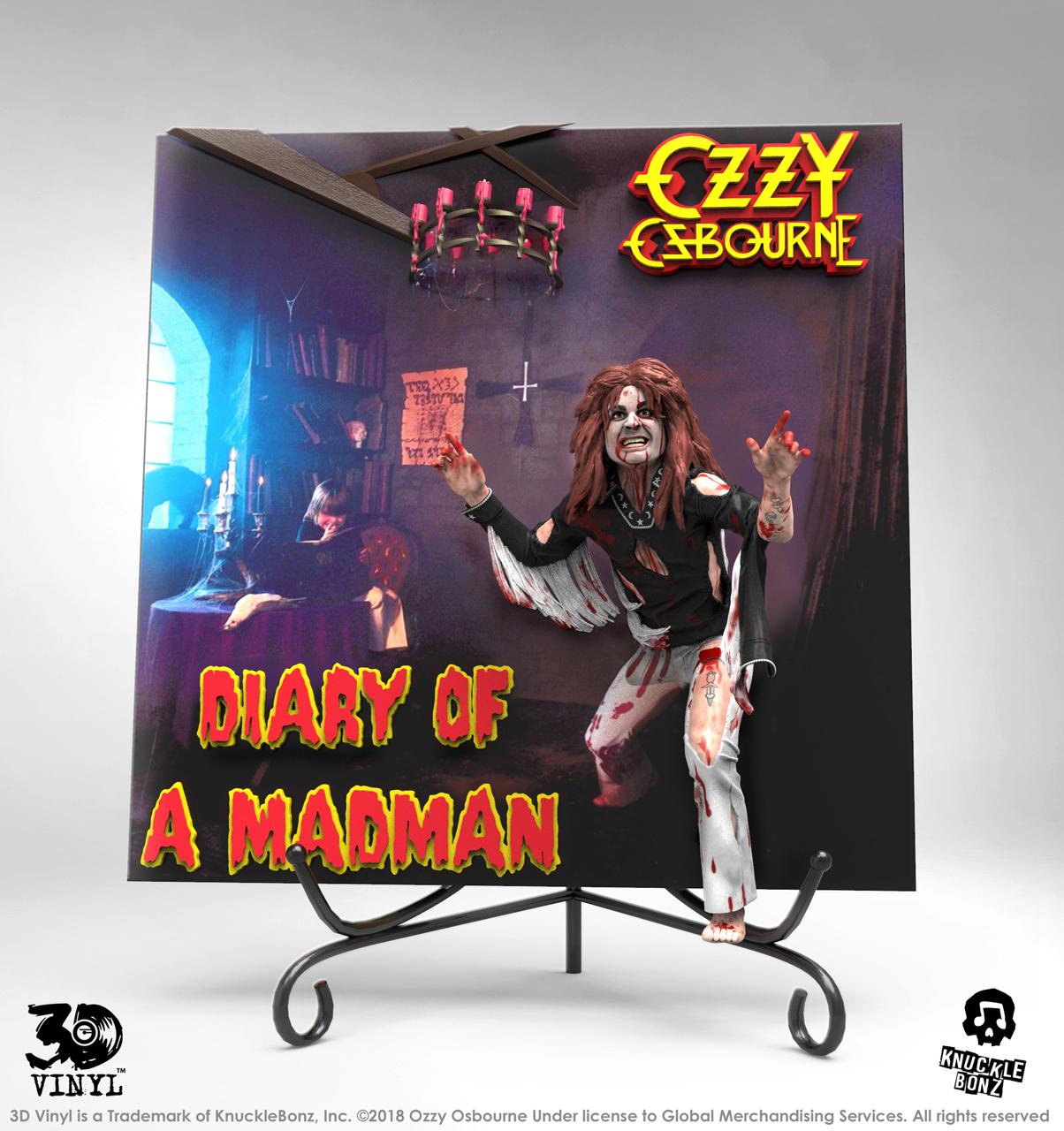 OZZY OSBOURNE publiera le vinyle 3D 'Diary Of A Madman' en automne .. Ozzypd10