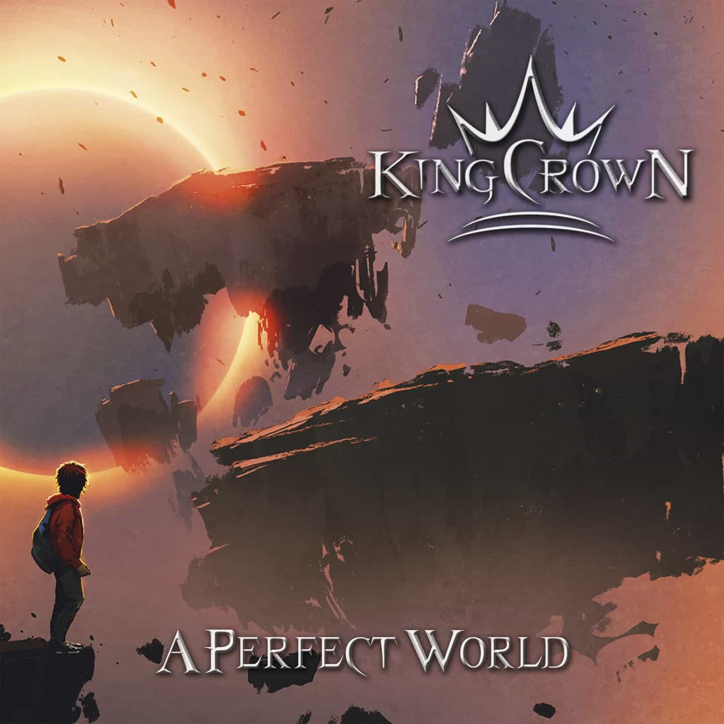 KINGCROWN  A Perfect World (2019) Heavy Metal France P8tpz210