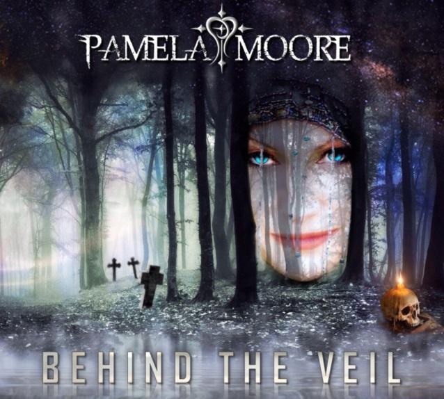 PAMELA MOORE Behind The Veil (2018) Metal USA Pamela10