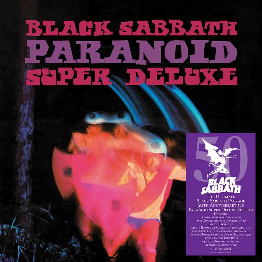 """Réédition de """"Paranoïd"""" de BLACK SABBATH pour son 50ème anniversaire ... Parano10"""