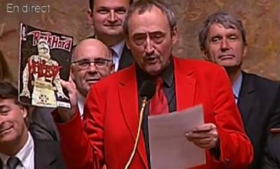 Quand METALLICA devient un cadeau pour un homme politique ... Patric10