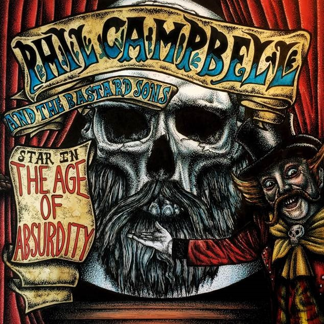 "PHIL CAMPBELL & THE BASTARD SONS ""The Age Of Absurdity""  (JAN 2018) Philca10"