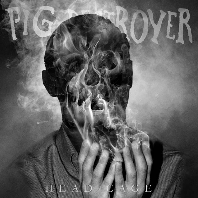 PIG DESTROYER Head Cage (2018) Thrash/Death/Grind USA Pigdes10