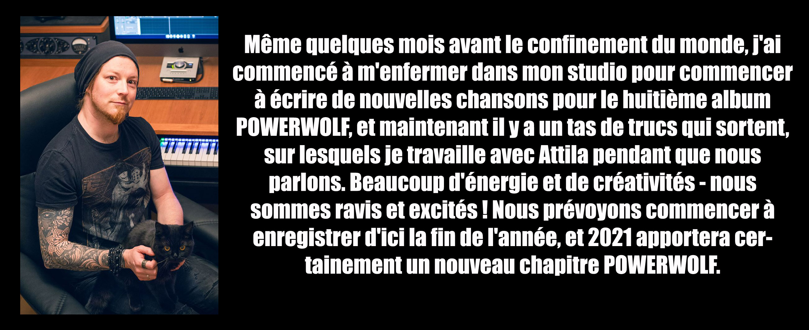 Powerwolf la nouvelle version de la chanson Powerw10