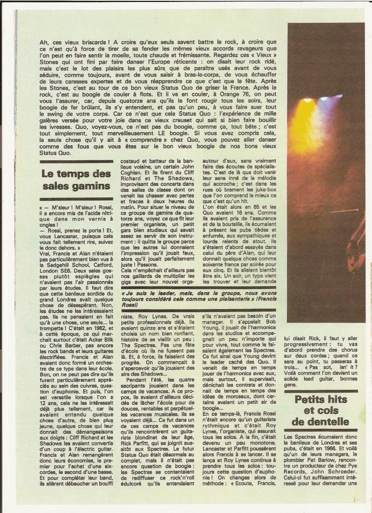 STATUS QUO dans BEST 98 Septembre 76 (archive) Quo_2-10