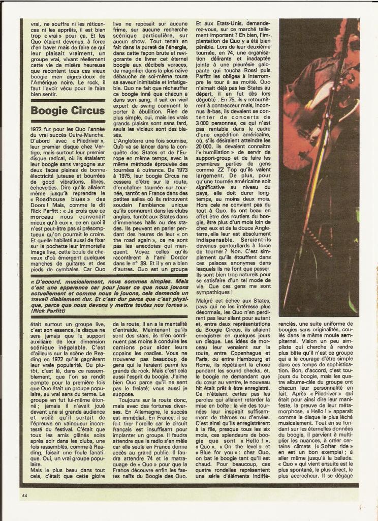STATUS QUO dans BEST 98 Septembre 76 (archive) Quo_6-10