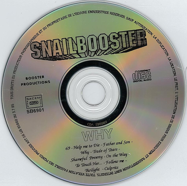 SNAILBOOSTER Why (1994) Heavy Metal Lille R-981012