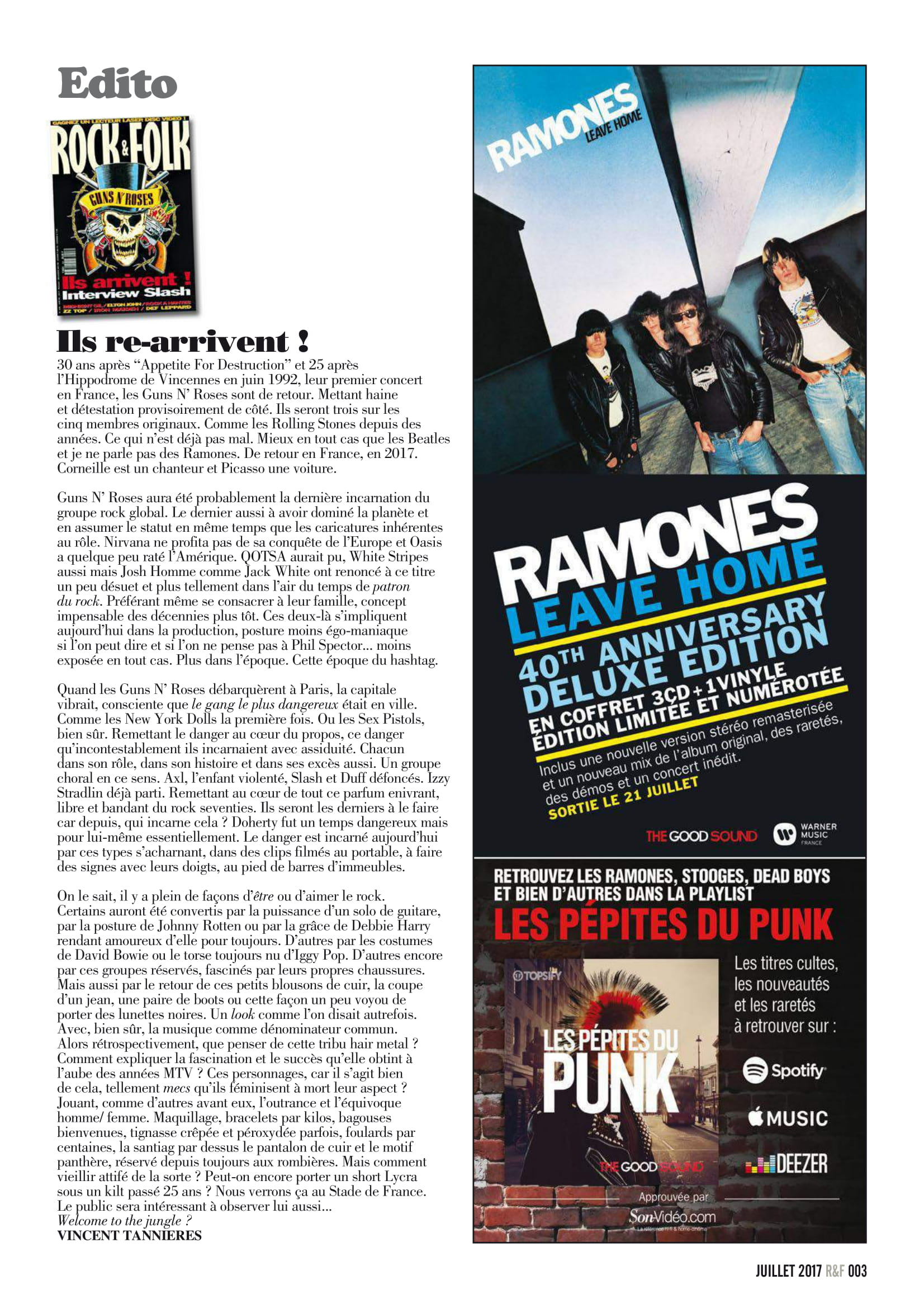 GUNS N'ROSES ROCK N'FOLK N°599 Juillet 2017 (Archive à lire) Rock_f10