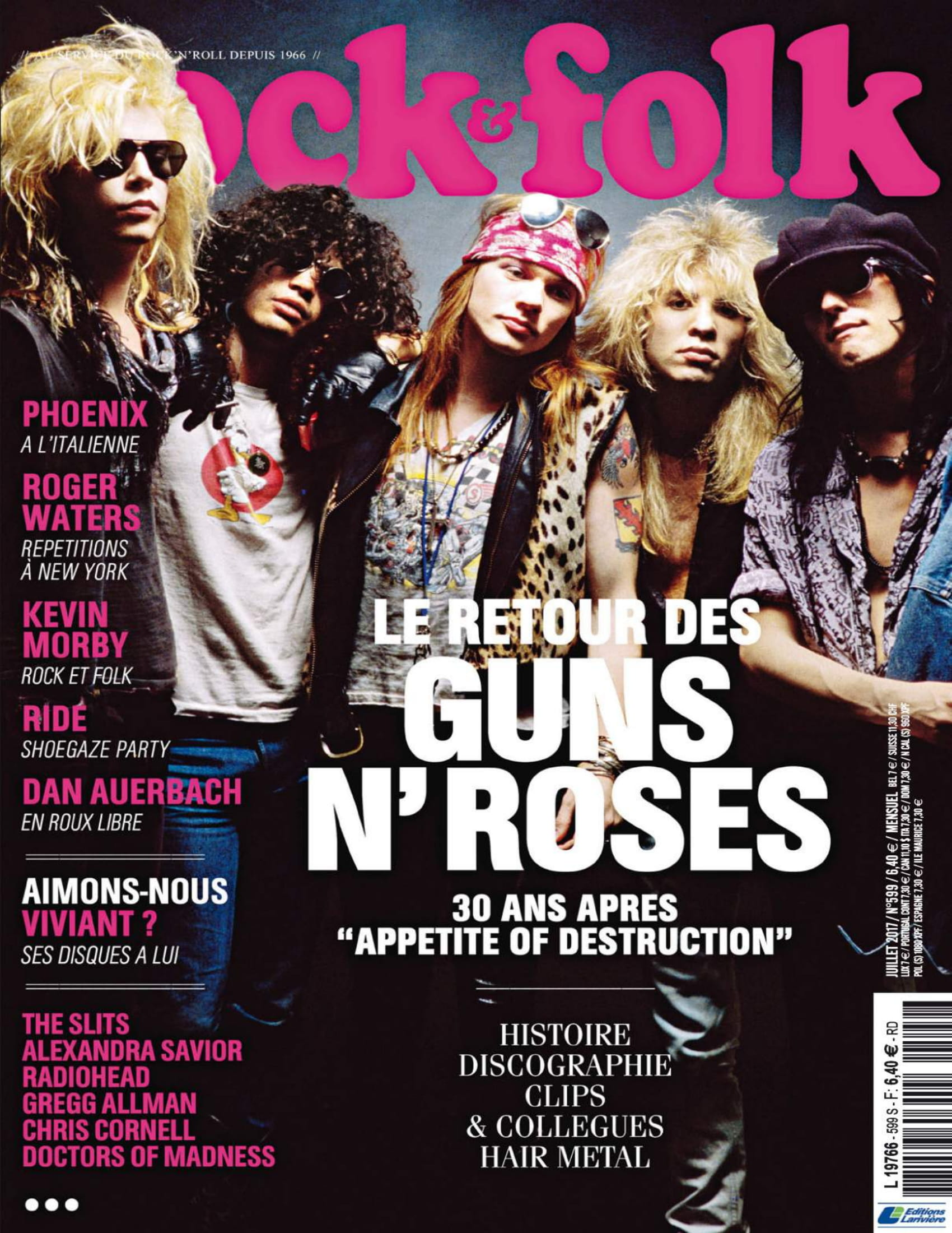 GUNS N'ROSES ROCK N'FOLK N°599 Juillet 2017 (Archive à lire) Rock_f11
