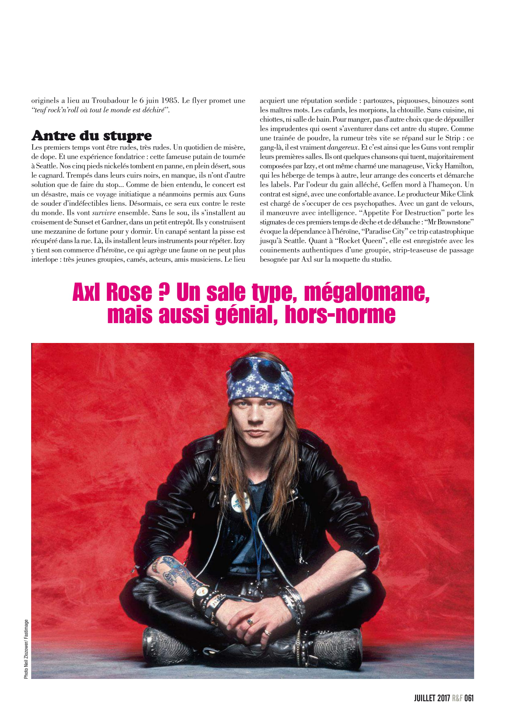 GUNS N'ROSES ROCK N'FOLK N°599 Juillet 2017 (Archive à lire) Rock_f16