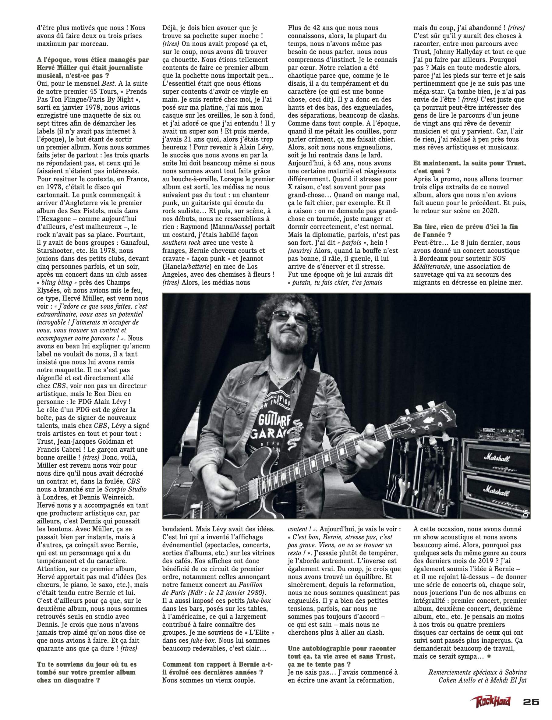 Interview TRUST pour le dernier album (Fils de lutte) Rock_h12