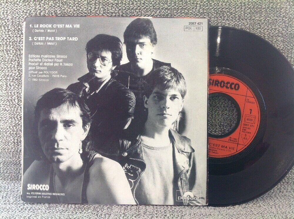 Retour en arrière avec AIRBUS Le rock c'est ma vie (1982) Hard-Rock Nantes  S-l16012