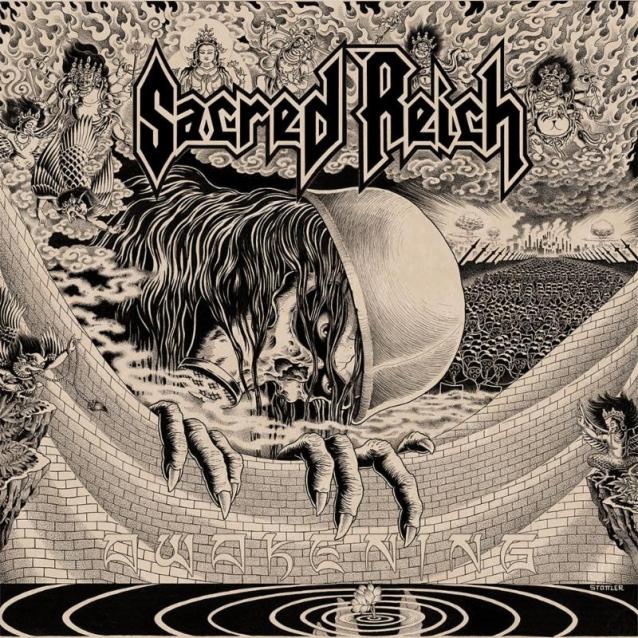 SACRED REICH Awakening (2019) Thrash U.S.A Sacred12