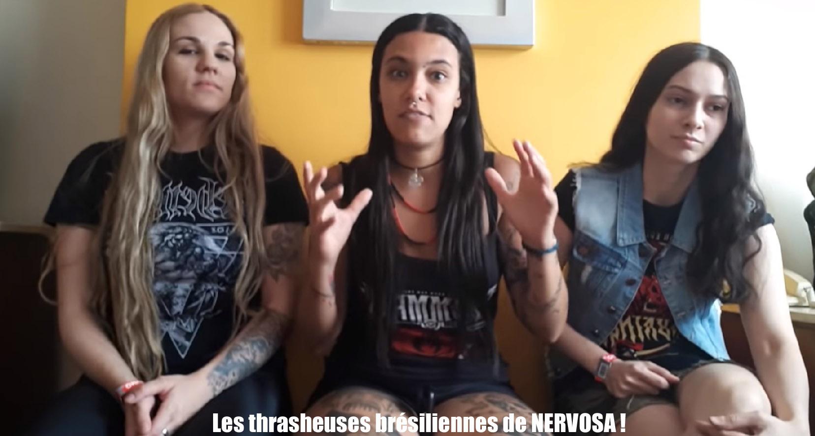 NERVOSA Downfall Of Mankind (2018) Thrash Brésil Sans_112