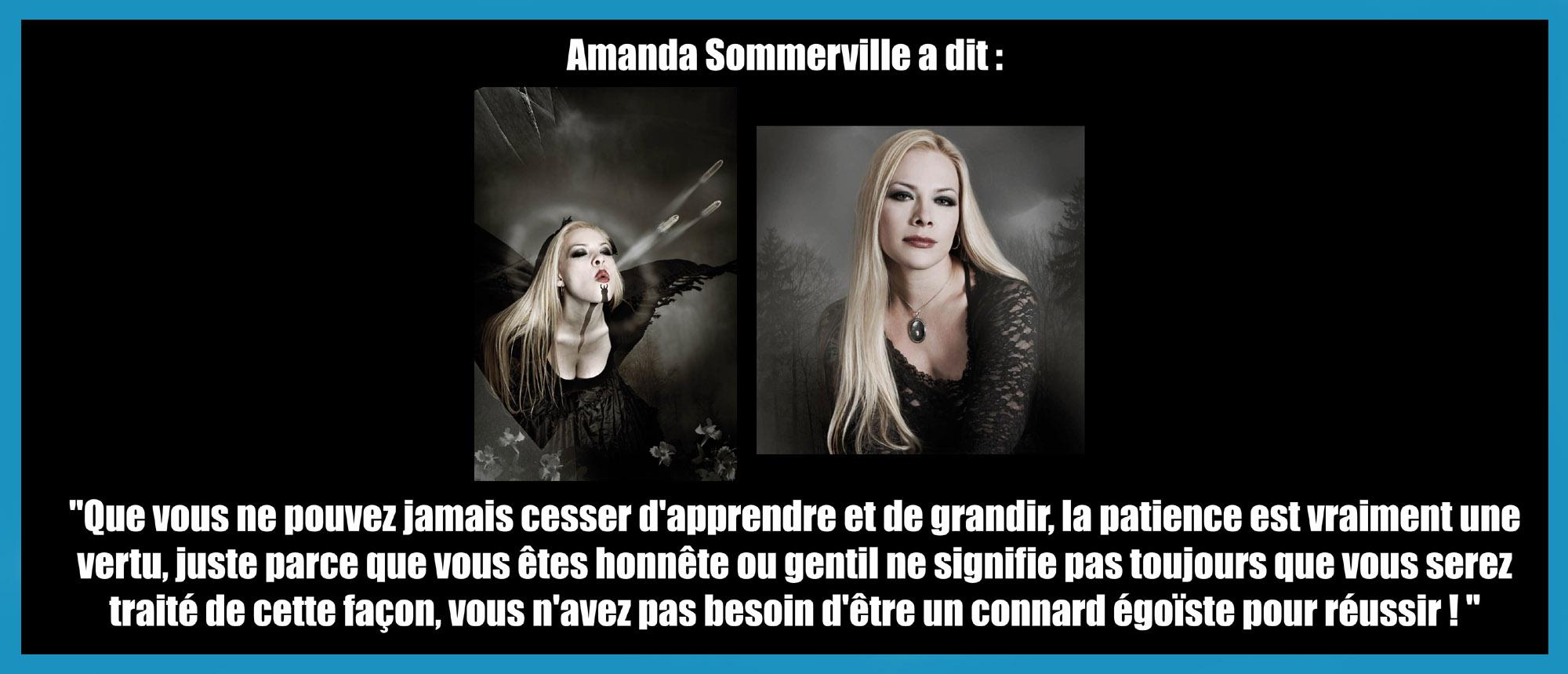 AMANDA SOMMERVILLE a dit ... sur ce qu'elle a appris de son métier ... Sans_121