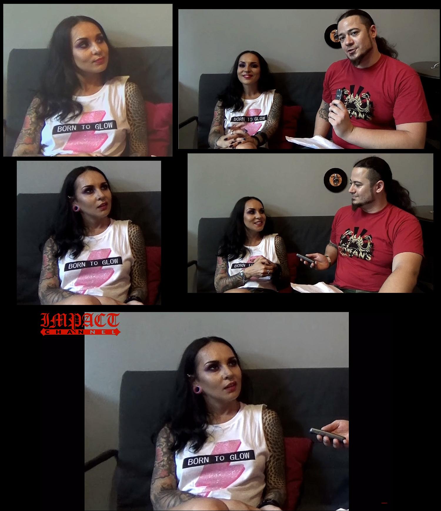 Tatiana Shmailyuk (JINJER) parle du futur album ... Sans_164