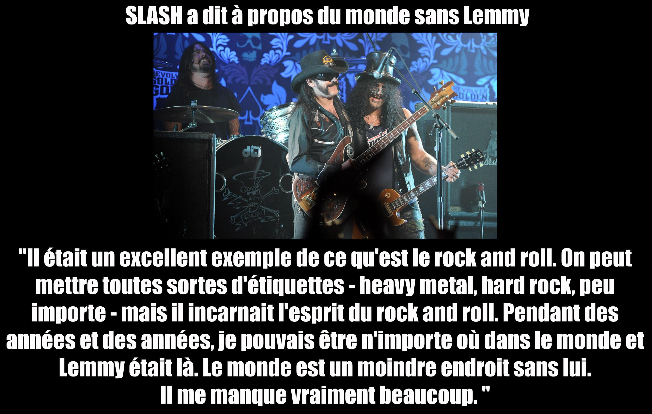 SLASH a dit ... à propos du monde sans Lemmy ... Sans_168