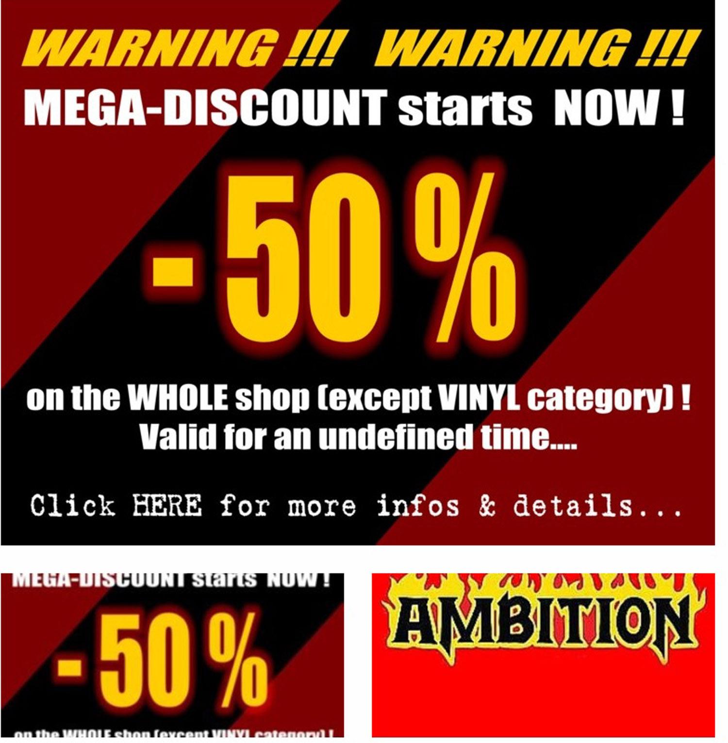 50% sur tous les CD's chez INFERNO RECORDS ! Faut profiter de cette offre exceptionnelle ... Sans_171