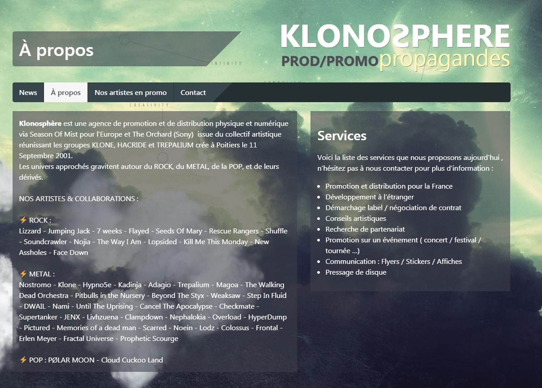 Les sorties chez KLONOSPHERE c'est ici ...  Sans_244