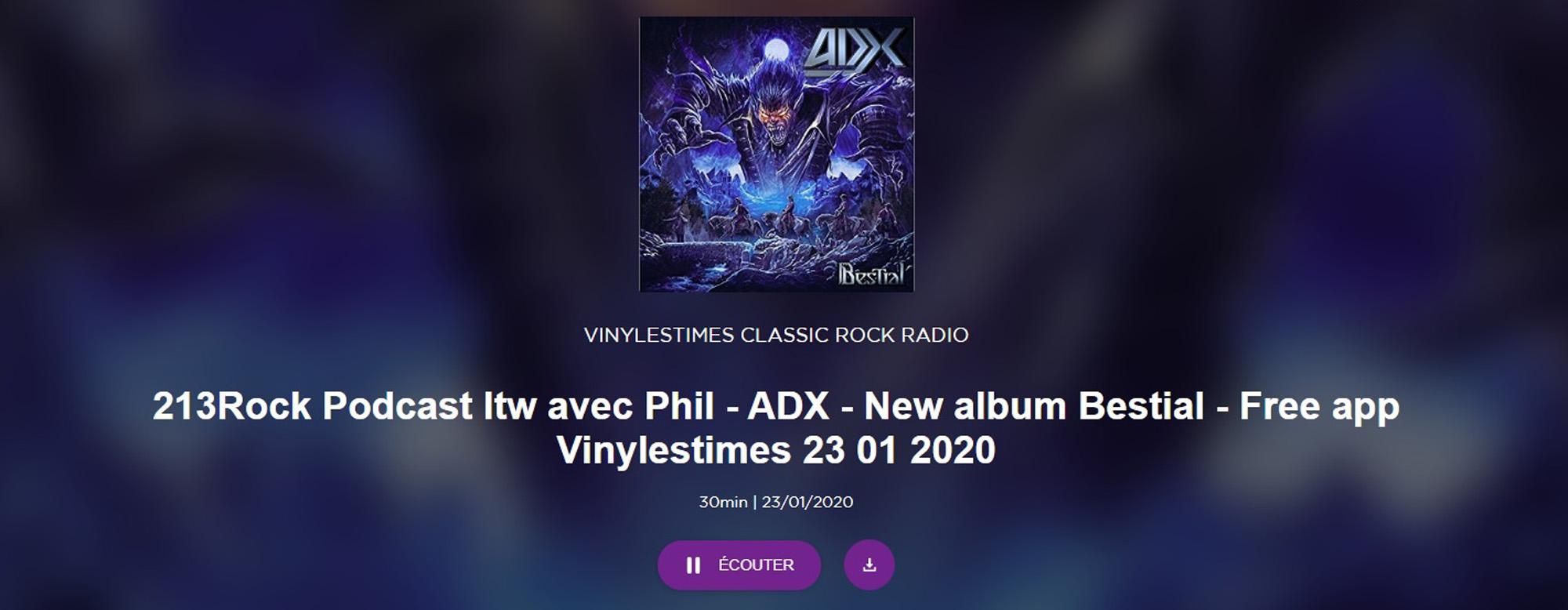 """ADX """"Bestial """"janvier 2020 - Page 2 Sans_264"""