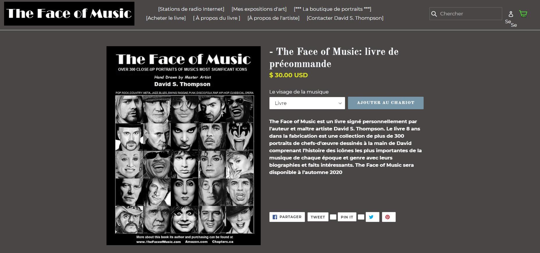 THE FACE OF MUSIC : portraits dessinés à la main réunis dans un livre ... Sans_265