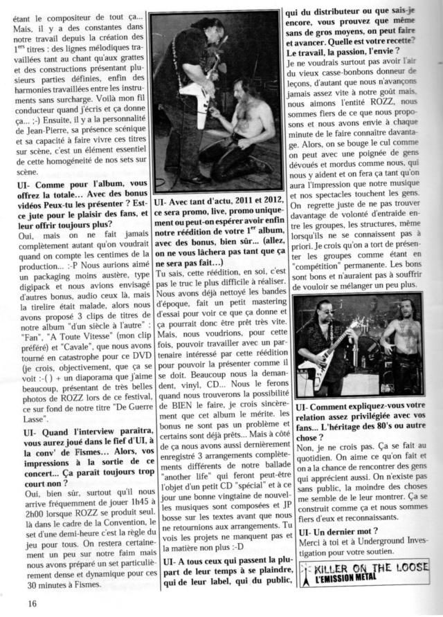 archive ROZZ 2011 dans mag underground investigation n 71 Sans_300