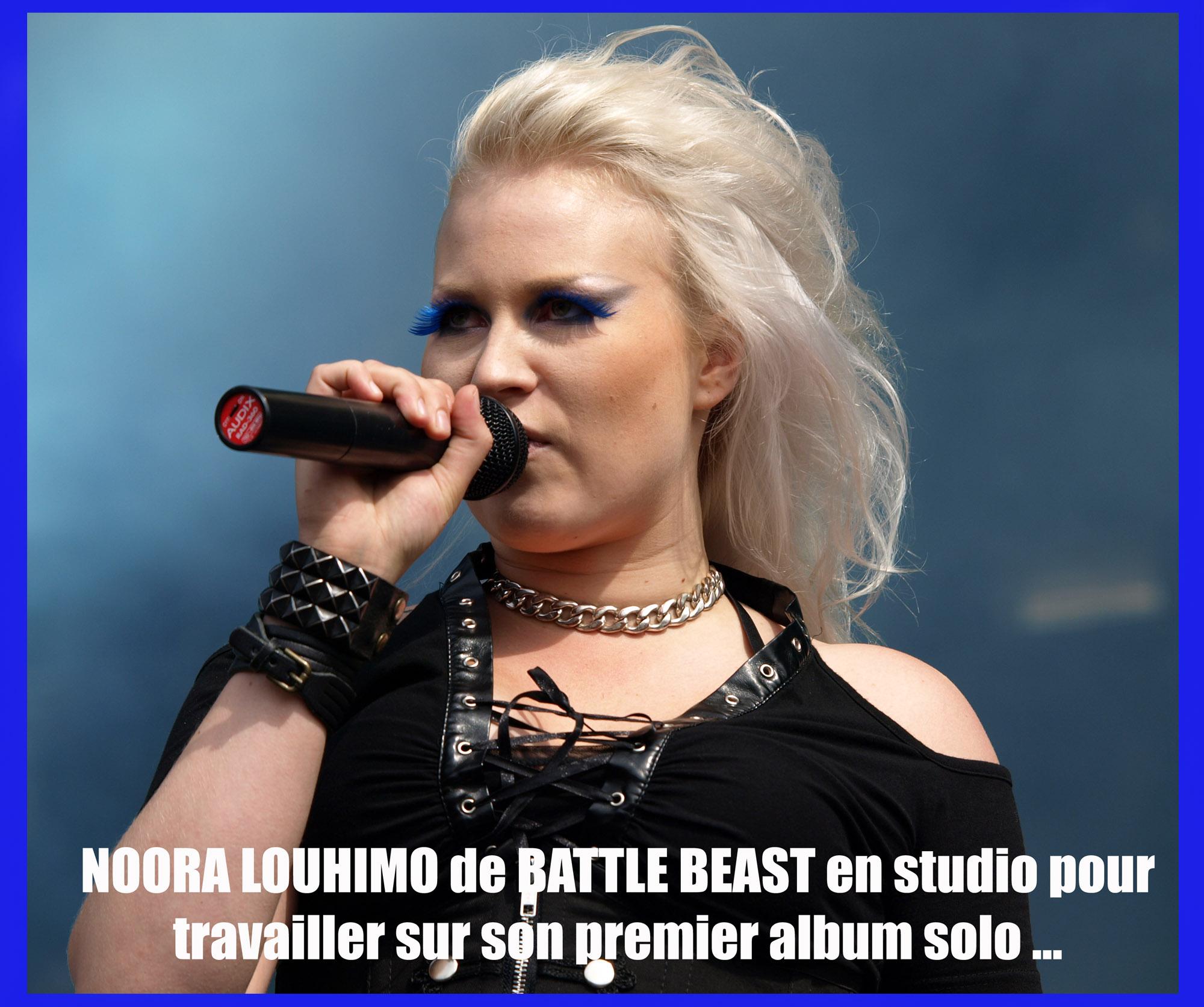 NOORA LOUHIMO (Battle Beast) en solo pour bientôt ... Sans_301