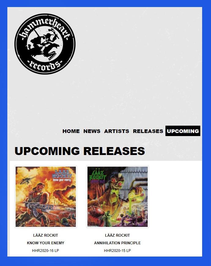 LÄÄZ ROCKIT réédité sur vinyle chez HAMMERHEART Records ! Sans_309