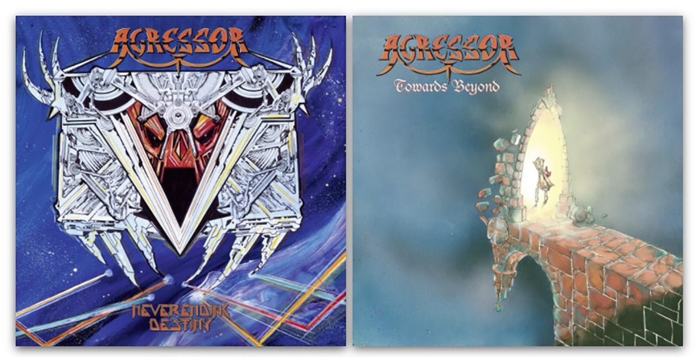 AGRESSOR : Réédition des deux premiers albums chez Season of Mist le 24/09/2021 Sans_338