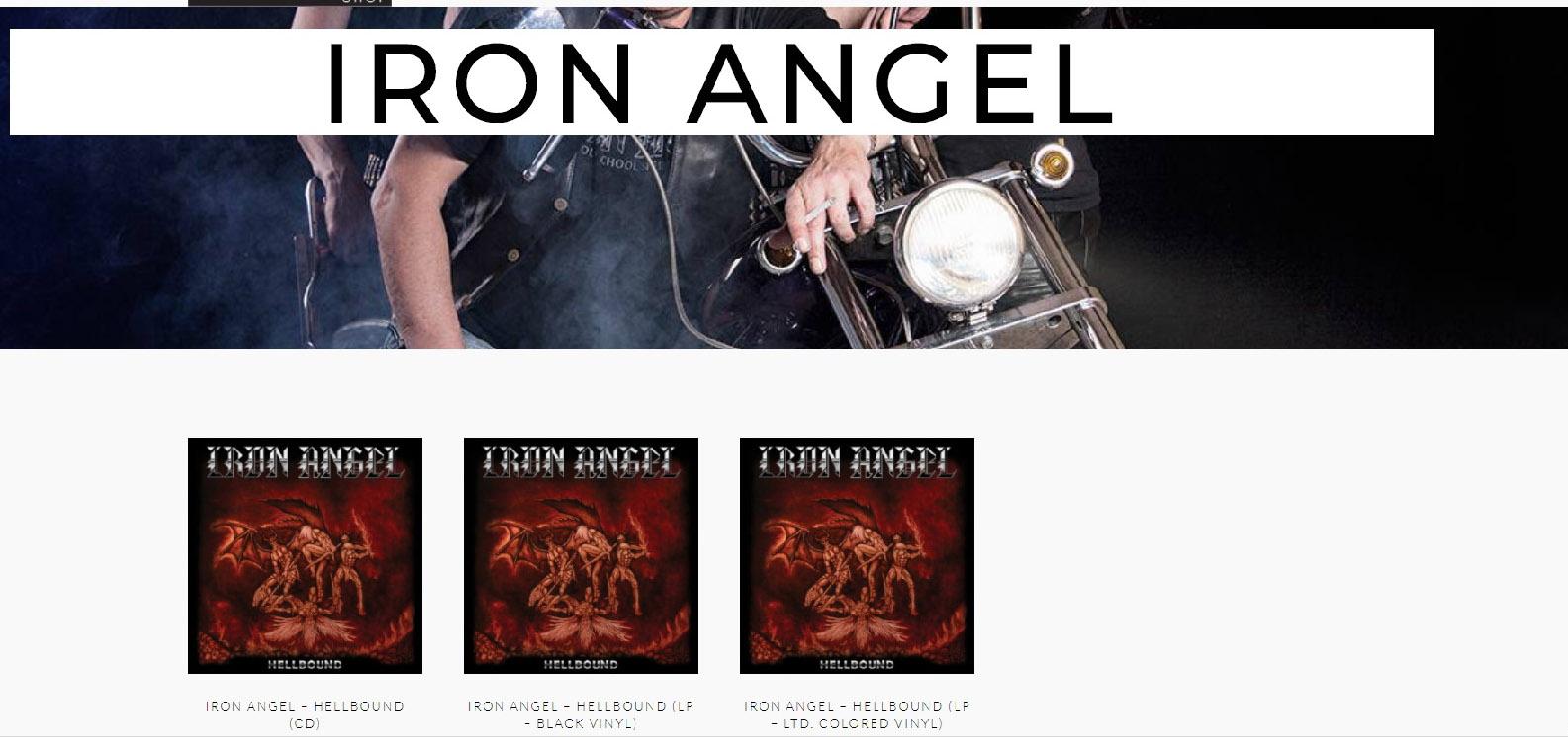 IRON ANGEL Hellbound (2018) Speed Metal Allemagne Sans_t64