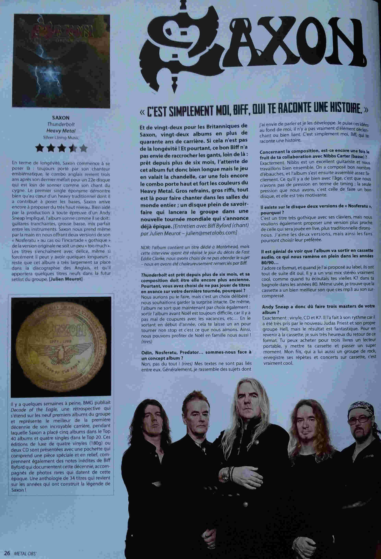SAXON Thunderbolt (2018) Heavy Metal Angleterre - Page 2 Saxon11