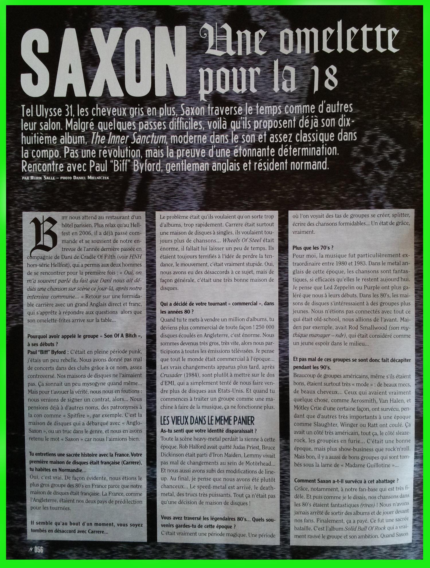SAXON Une omelette pour la 18 (Interview et Archive) Saxon_13