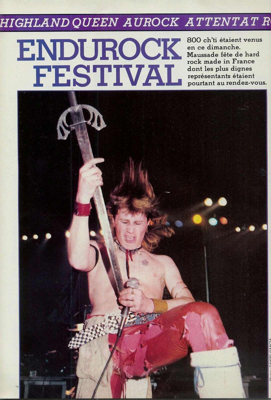 L'Endurock Festival (Cambrai) le 21 avril 1985 Archive Enfer Magazine Juin 1985  Scan0016