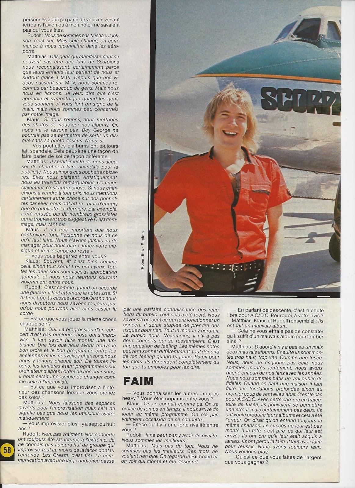 SCORPIONS L'ouragan (archive BEST Juillet 1984) Scorpi17