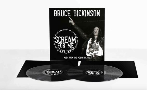 BRUCE DICKINSON Scream For Me Sarajevo (2018) CD+DVD Scream11