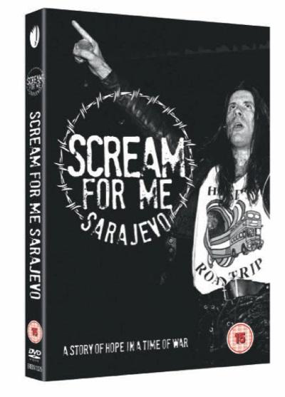 BRUCE DICKINSON Scream For Me Sarajevo (2018) CD+DVD Scream12