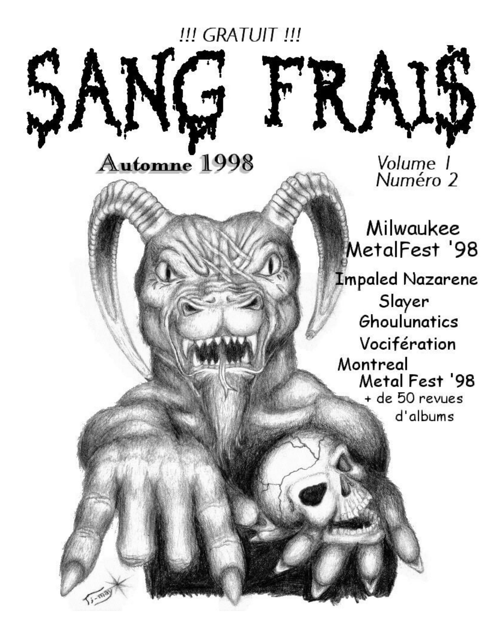 Interview SLAYER dans le fanzine SANG FRAIS Automne 1989 (archive à lire) Sf02-010