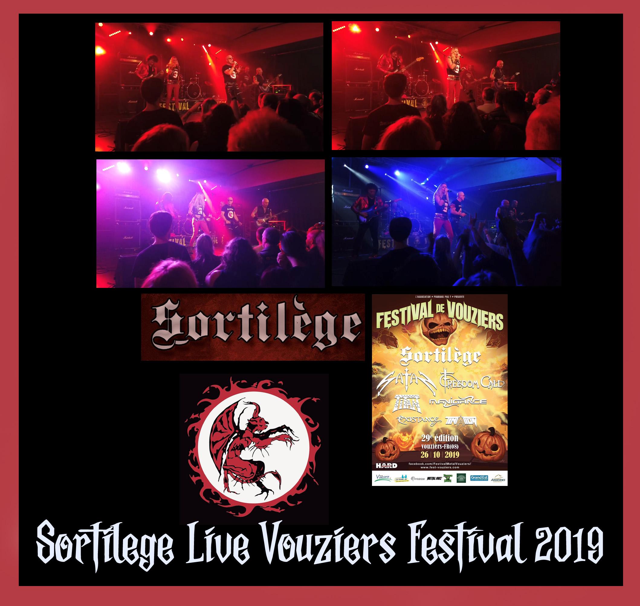 SORTILEGE Live à Vouziers Festival 2019  Sortil22