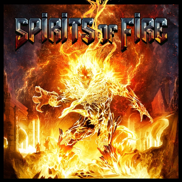 SPIRITS OF FIRE 1er album (2019) Heavy Metal  Spirit10