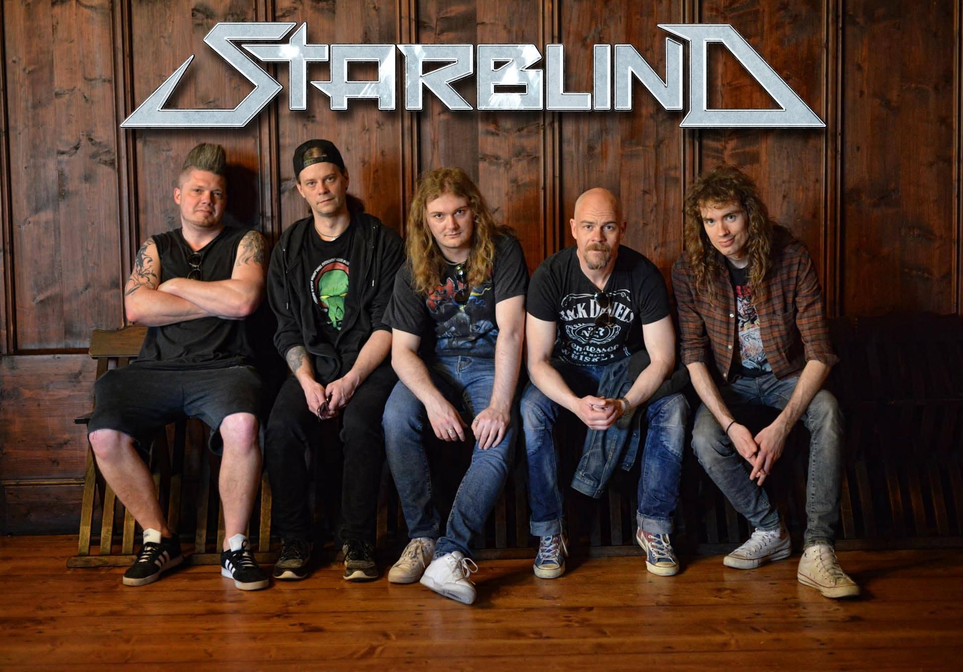 STARBLIND Black Bubbling Ooze (2020) Heavy Metal Suède Starbl10