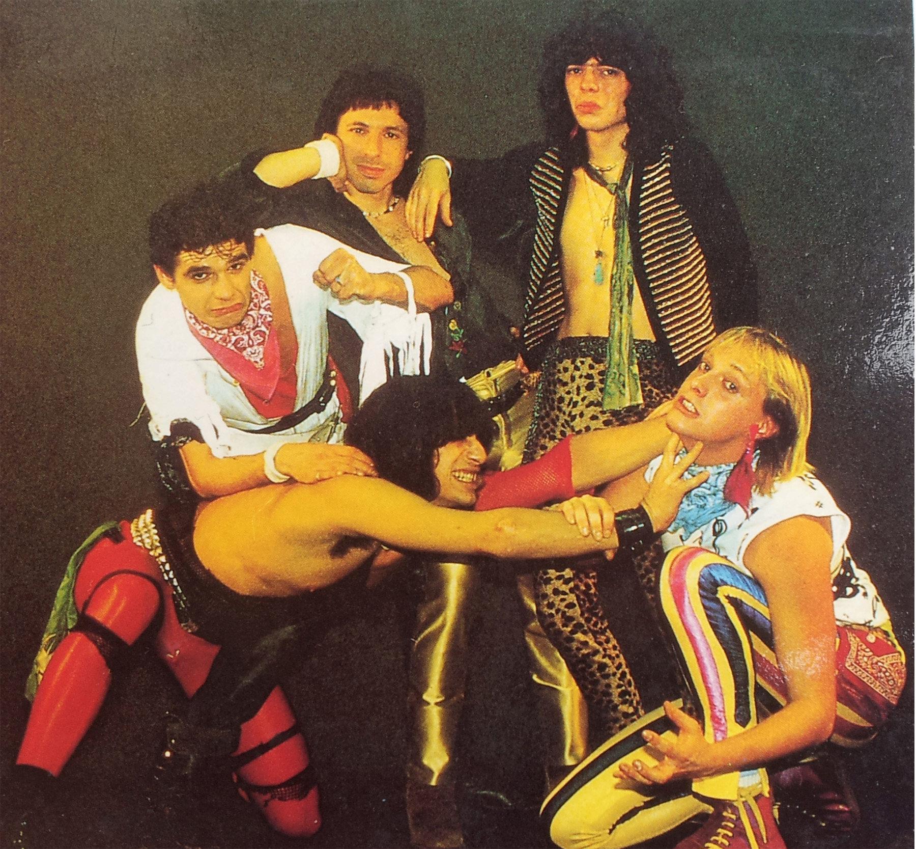 STATORS ... Never Too Late (1986) le vinyle vu de plus près ... Stator16