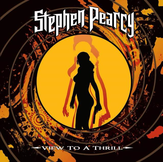 STEPHEN PEARCY View To A Thrill (2018) Hard/Heavy U.S.A Stephe10