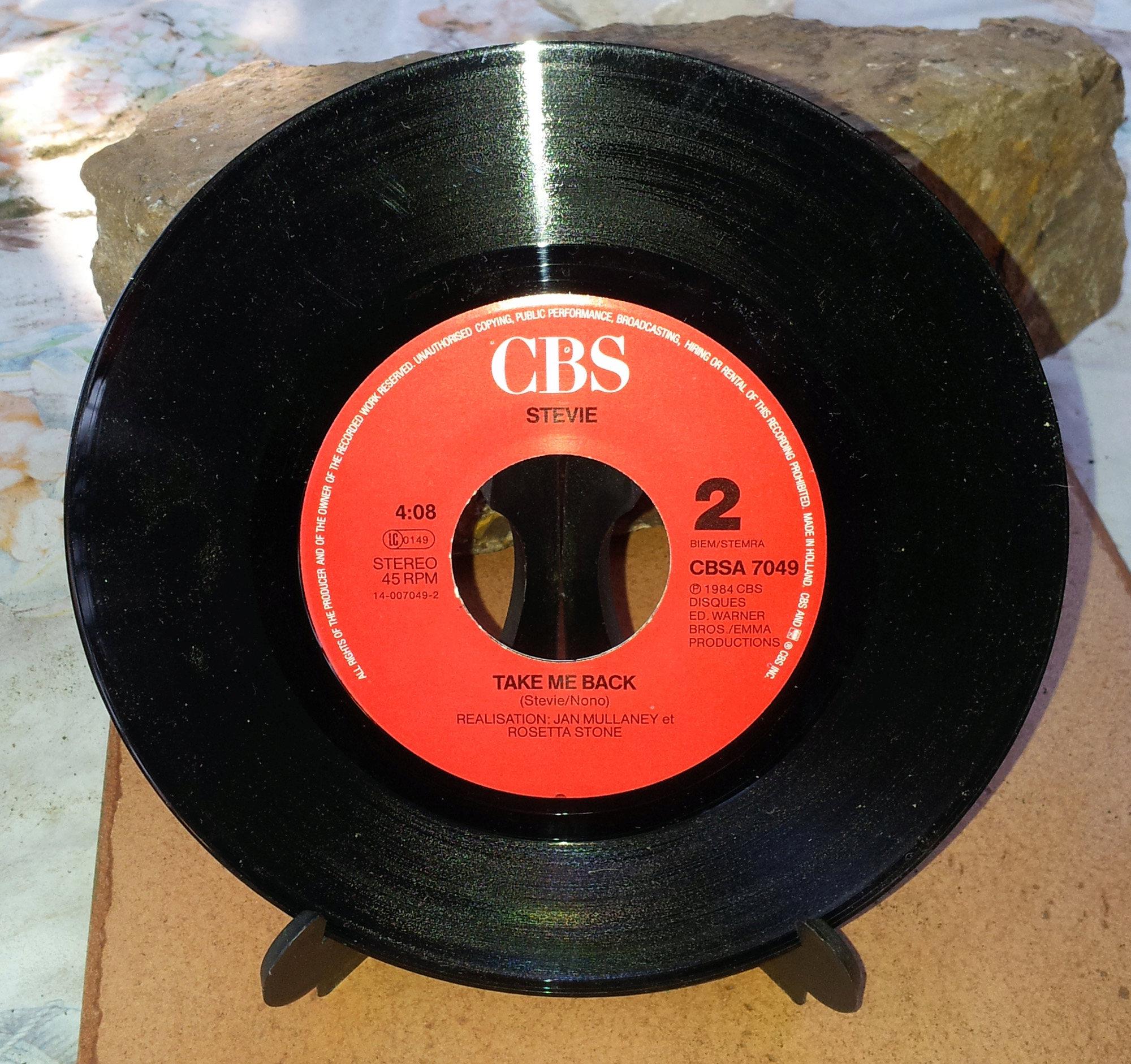 STEVIE Coeur en guenilles (1986) 45 tours - le vinyle vu de plus près ...  Stevie13