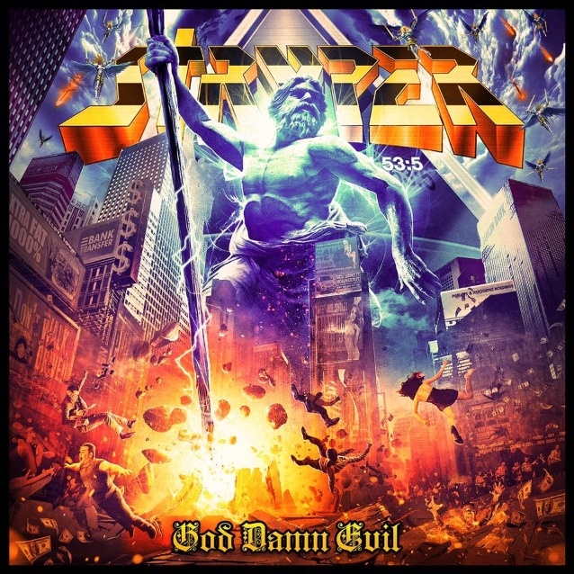 STRYPER God Damn Evil (2018) Heavy Metal USA Strype10