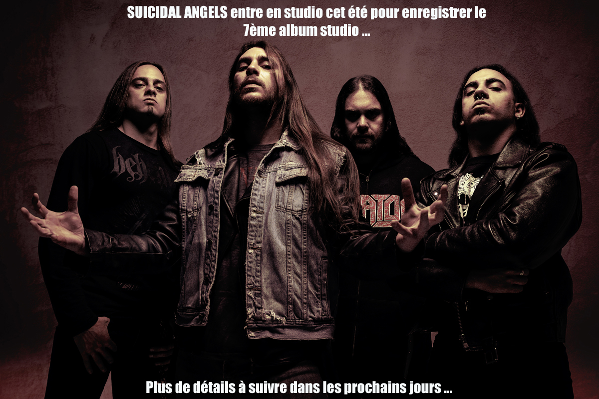 "SUICIDAL ANGELS ""Years Of Aggression"" (AOUT 2019) Suicid10"