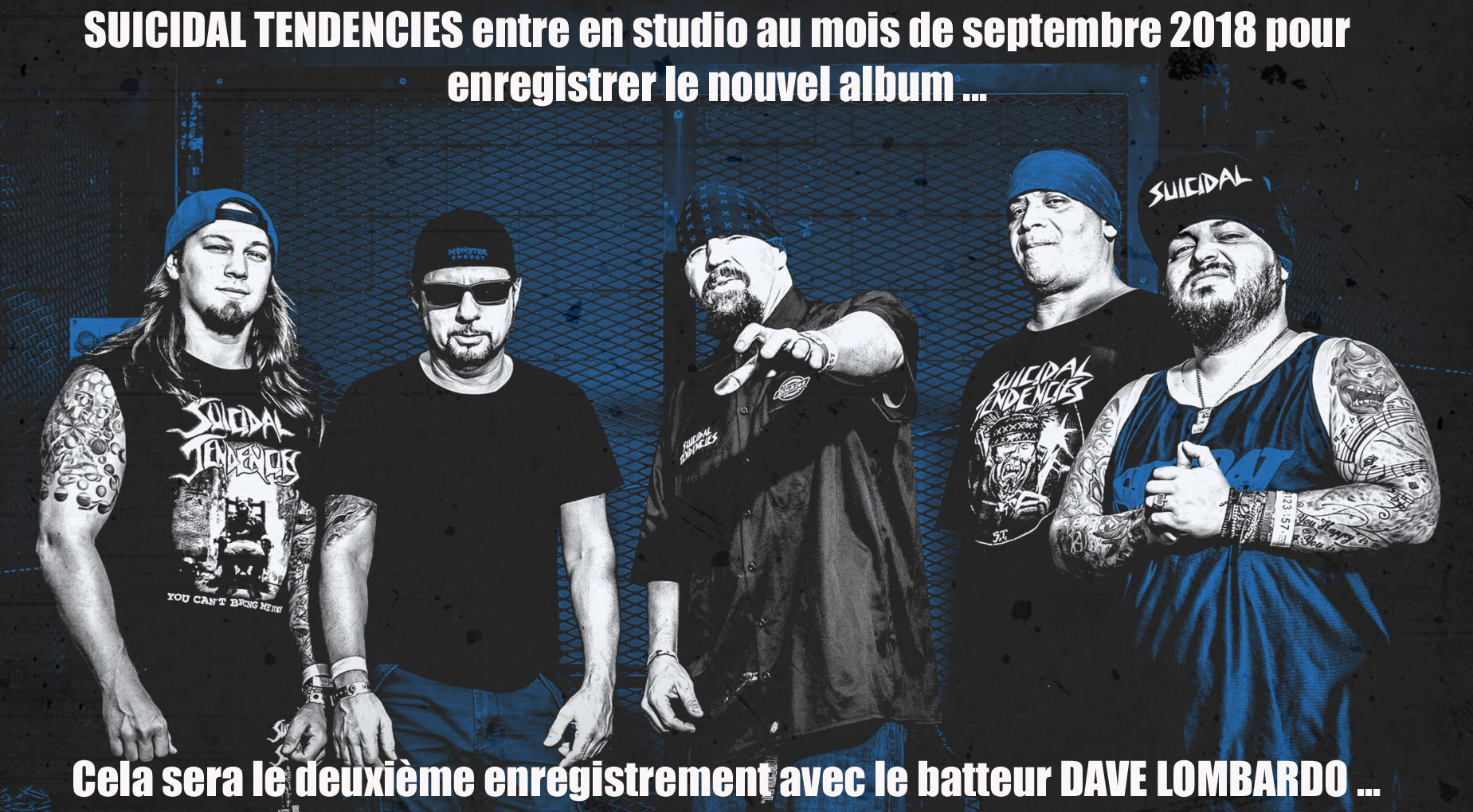 SUICIDAL TENDENCIES entre bientôt en studio ... Suicid11