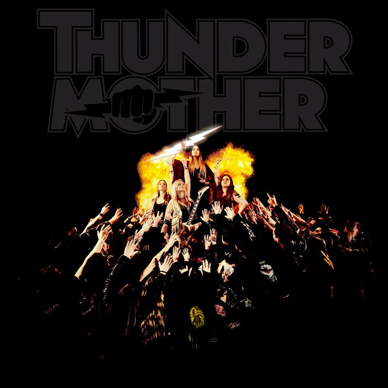 THUNDERMOTHER Heat Wave (2020) Hard-Rock Suède Thunde11