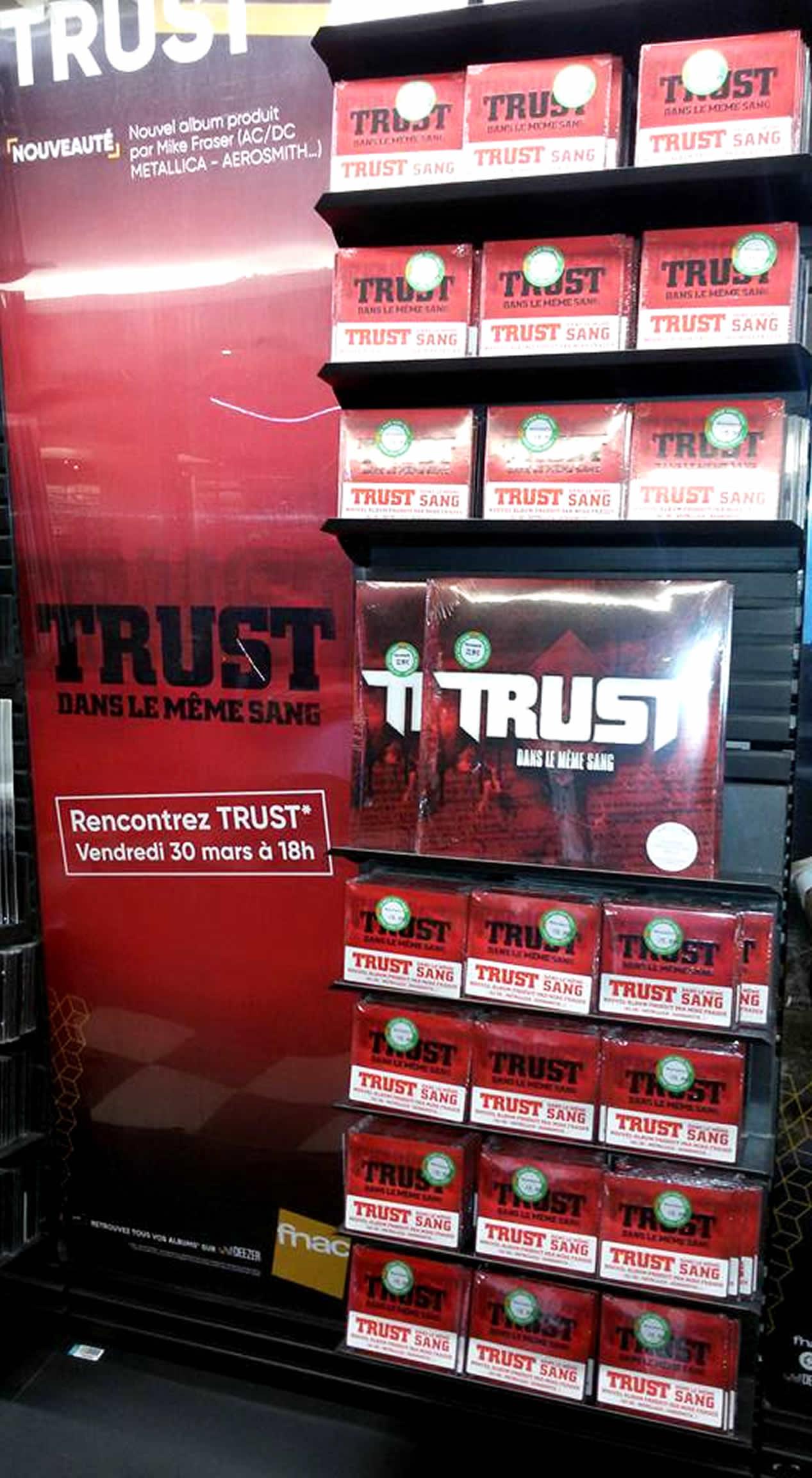 Quelques paroles du dernier album de TRUST Dans le même sang ... Trust-11
