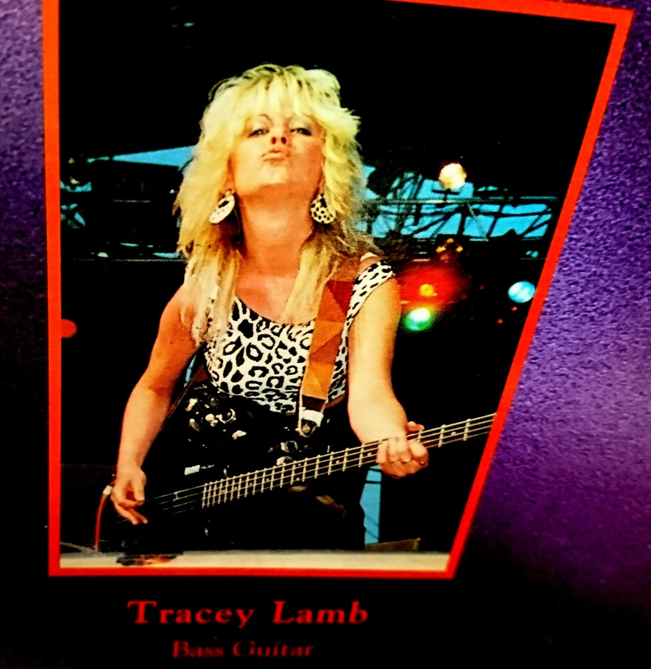 TRACEY LAMB quitte Rock Goddess ... Tumblr14